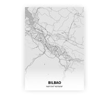 Load image into Gallery viewer, Bilbao poster - Pencilorama - Printmycity