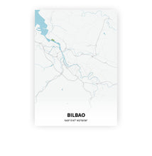 Load image into Gallery viewer, Bilbao poster - Urban - Printmycity