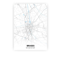 Load image into Gallery viewer, Bruges poster - Classic - Printmycity