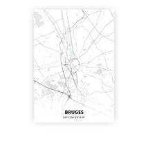 Load image into Gallery viewer, Bruges poster - Cold Horizon - Printmycity