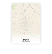 Load image into Gallery viewer, Bruges poster - Metropolis - Printmycity