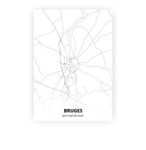 Load image into Gallery viewer, Bruges poster - Minimal - Printmycity