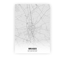 Load image into Gallery viewer, Bruges poster - Pencilorama - Printmycity