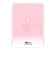 Load image into Gallery viewer, Bruges poster - Pink Cove - Printmycity