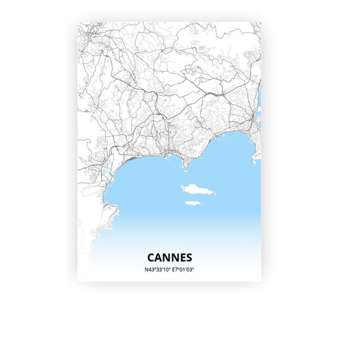 Cannes poster - Classic - Printmycity