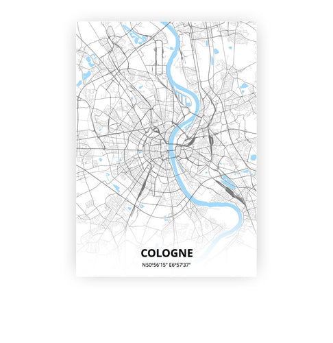 Cologne poster - Classic - Printmycity