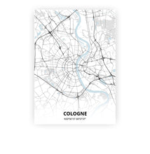 Load image into Gallery viewer, Cologne poster - Cold Horizon - Printmycity