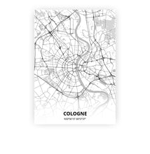 Load image into Gallery viewer, Cologne poster - Lo-fi - Printmycity
