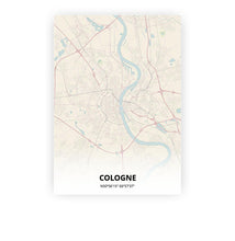 Load image into Gallery viewer, Cologne poster - Metropolis - Printmycity