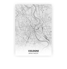 Load image into Gallery viewer, Cologne poster - Pencilorama - Printmycity