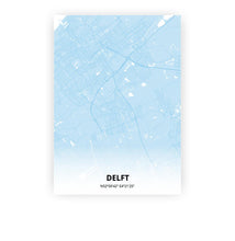 Load image into Gallery viewer, Delft poster - Baby Blue - Printmycity