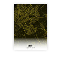Load image into Gallery viewer, Delft poster - Black Lantern - Printmycity