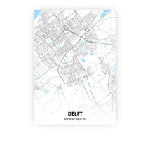 Load image into Gallery viewer, Delft poster - Classic - Printmycity