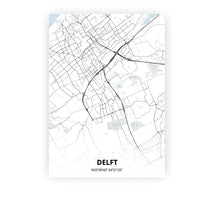 Load image into Gallery viewer, Delft poster - Cold Horizon - Printmycity