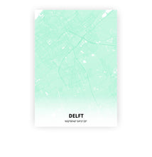Load image into Gallery viewer, Delft poster - Empire Green - Printmycity