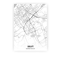 Load image into Gallery viewer, Delft poster - Lo-fi - Printmycity
