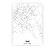 Load image into Gallery viewer, Delft poster - Minimal - Printmycity