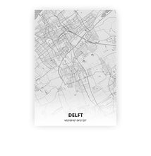 Load image into Gallery viewer, Delft poster - Pencilorama - Printmycity