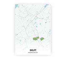 Load image into Gallery viewer, Delft poster - Urban - Printmycity