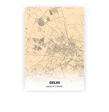 Load image into Gallery viewer, Delhi poster - Antique - Printmycity