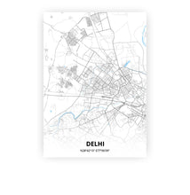 Load image into Gallery viewer, Delhi poster - Classic - Printmycity