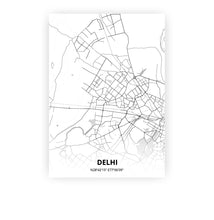 Load image into Gallery viewer, Delhi poster - Lo-fi - Printmycity