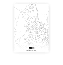 Load image into Gallery viewer, Delhi poster - Minimal - Printmycity