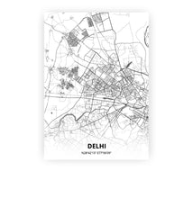 Load image into Gallery viewer, Delhi poster - Mono - Printmycity
