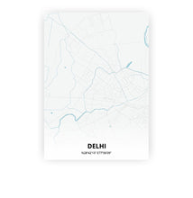 Load image into Gallery viewer, Delhi poster - Urban - Printmycity