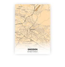 Load image into Gallery viewer, Dresden poster - Antique - Printmycity