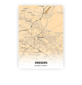 Dresden poster - Antique - Printmycity