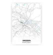 Load image into Gallery viewer, Dresden poster - Classic - Printmycity