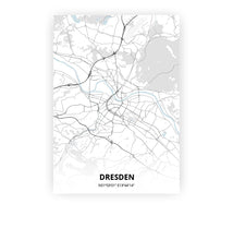 Load image into Gallery viewer, Dresden poster - Cold Horizon - Printmycity