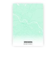 Load image into Gallery viewer, Dresden poster - Empire Green - Printmycity