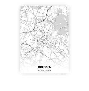 Dresden poster - Lo-fi - Printmycity