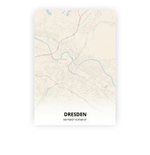 Load image into Gallery viewer, Dresden poster - Metropolis - Printmycity