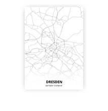 Load image into Gallery viewer, Dresden poster - Minimal - Printmycity