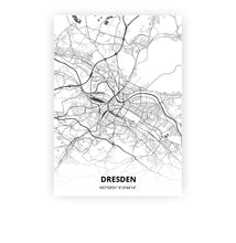 Load image into Gallery viewer, Dresden poster - Mono - Printmycity