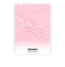 Load image into Gallery viewer, Dresden poster - Pink Cove - Printmycity