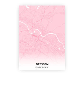 Dresden poster - Pink Cove - Printmycity
