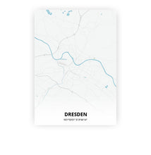 Load image into Gallery viewer, Dresden poster - Urban - Printmycity