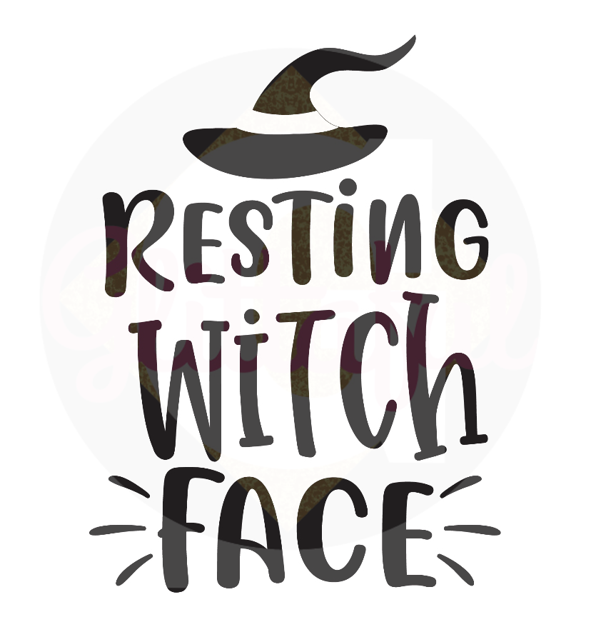 Resting Witch Face - Digital Downloads