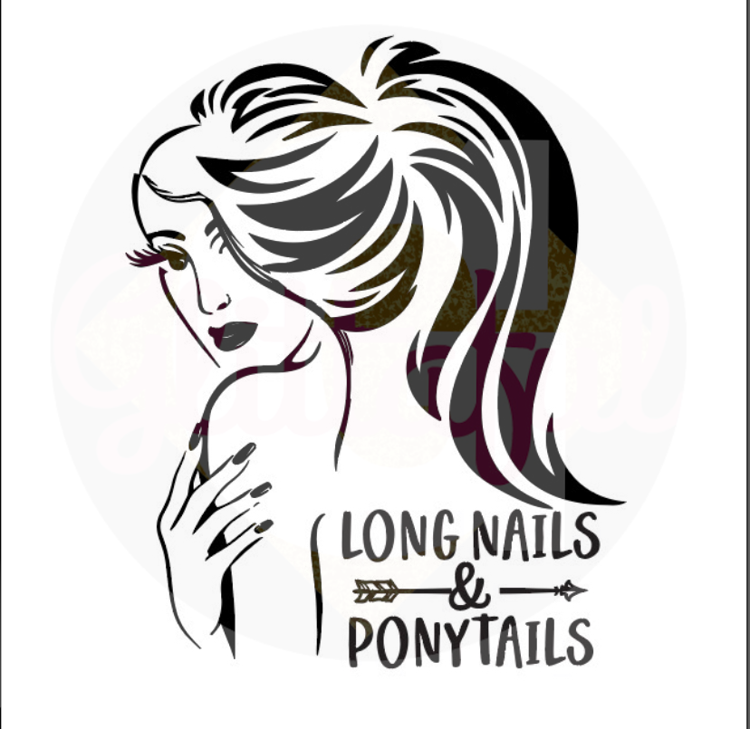 Long Nails & Ponytails - Digital Downloads