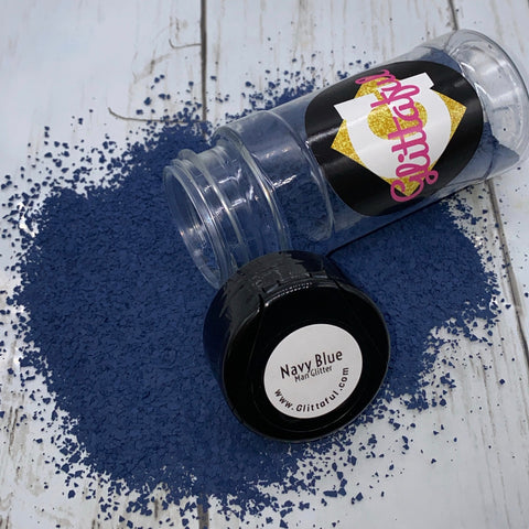 Navy Blue - Man Glitter