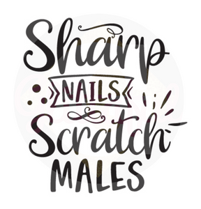 Sharp Nails Scratch Males - Digital Downloads