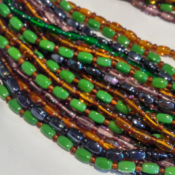 1970s Glass Beaded Necklace