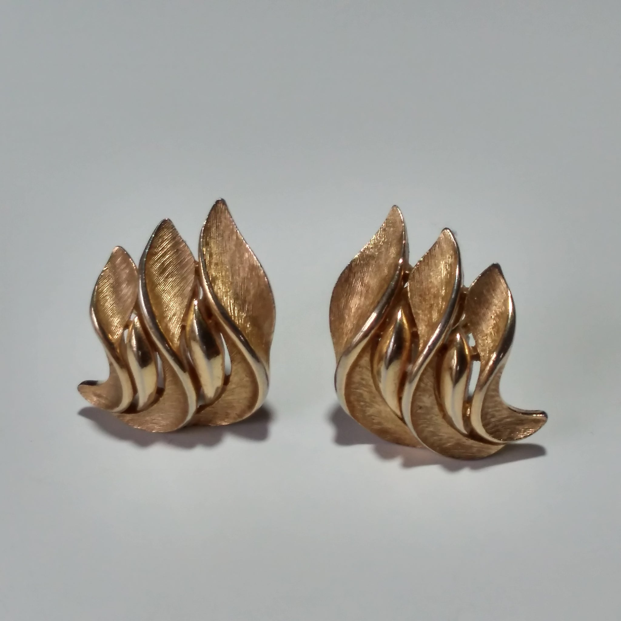 1960s Leaf Earrings