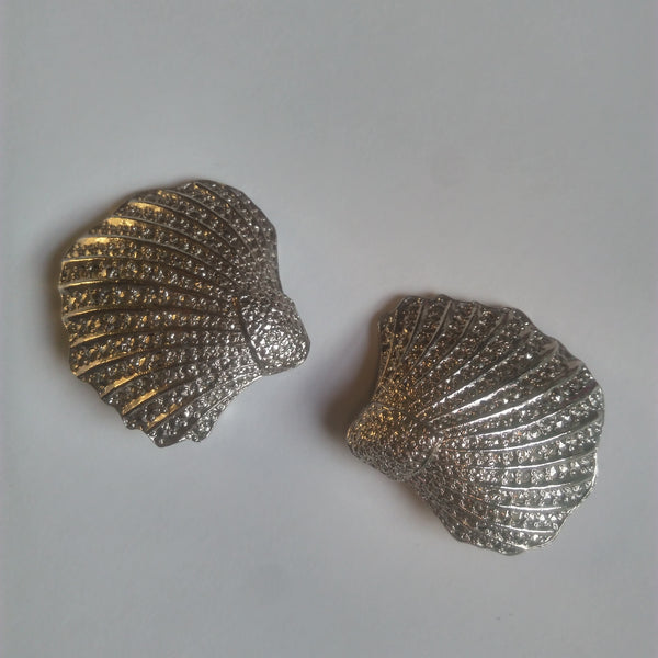 1960s Shell Earrings