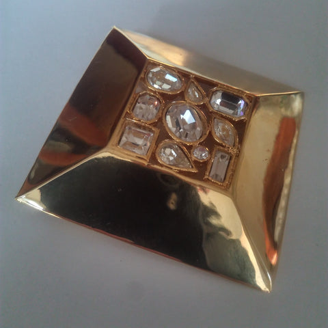 1980s Statement Brooch