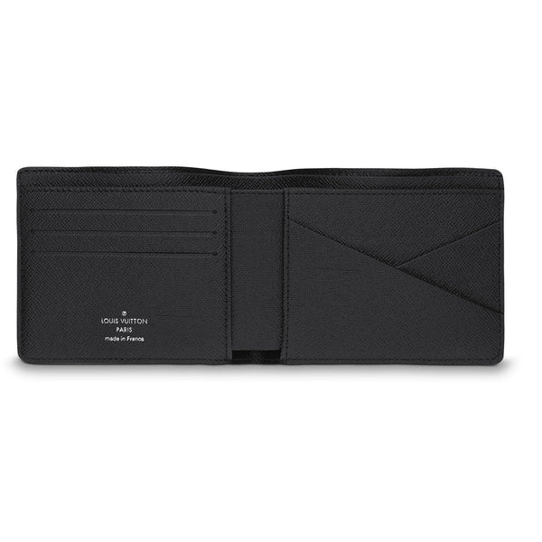 Black Monogram Wallet